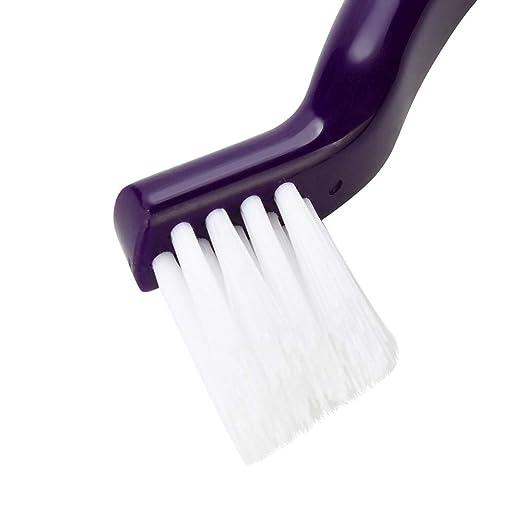 Negro cepillo de limpieza multifunci/ón Puertas y ventanas escritorio de la computadora