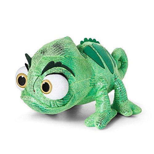 Disney Tangled Rapunzel's Green Chameleon Pascal Plush Toy 17""
