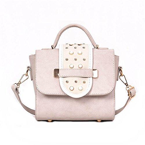Retro Nail Matte Simple Bags White New Bag White Gwqgz Fashion Bags Ladies qRxaCfgw