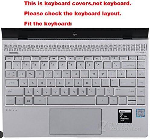High Clear Transparent Tpu Keyboard Cover protectors skin guard For 2017 HP ENVY 13 ad014na ad004ng ad003ng ad015na ad013na ad010nr ad065nr AD036TU AD027TX 13.3