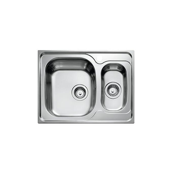 Amazon.com: Teka 10120068 - Fregadero de cocina (acero ...
