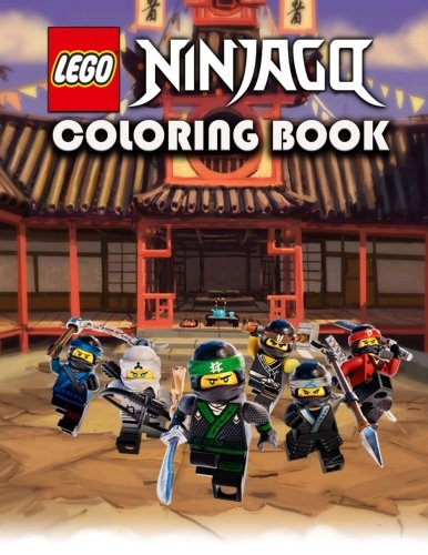 Lego Coloring Book: Ninjago, great coloring pages ,(for kids ages 4-10)