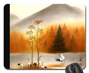 WMSHOP Asian Art17 Mouse Pad, Mousepad (Mountains Mouse Pad)