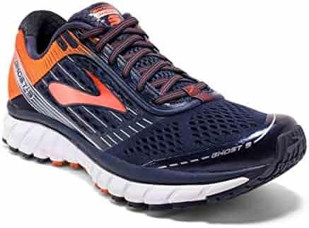 Brooks Ghost 9 Peacoat/Red Orange/Black Men's Running Shoes