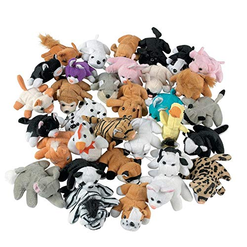 Plush Mini Animal Assortment