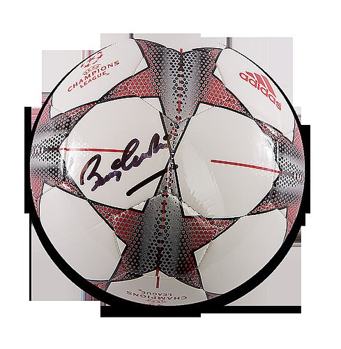 Charlton Autographed Manchester United Football product image