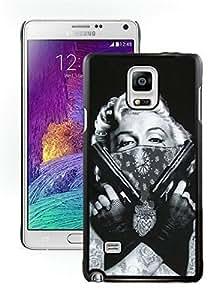 Grace Protactive Case Tattooed Marilyn Monroe Black Samsung Galaxy Note 4 Case