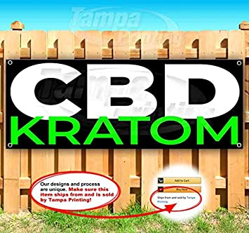 We Sell CBD 13 oz Banner Heavy-Duty Vinyl Single-Sided with Metal Grommets