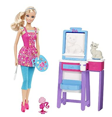 Barbie I Can Be Art Teacher Doll Playset by Mattel