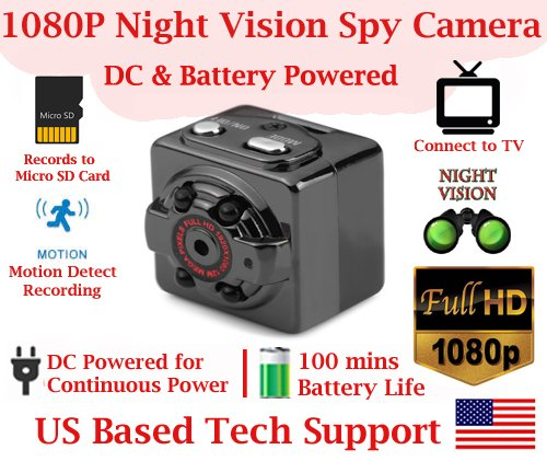 RESOLUTION Detection Rechargeable Invisible Spy