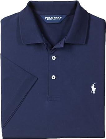 cbb1e8bc Ralph Lauren Polo Golf Men's Pima Cotton Polo Shirt (Small, French Navy) at  Amazon Men's Clothing store: