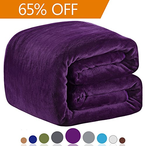 Richave Polar Fleece Blankets King Size for The Bed Extra So