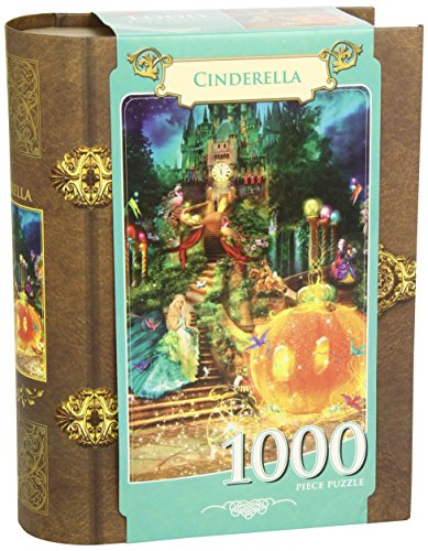 MasterPieces Cinderella Book Box Jigsaw Puzzle, 1000-Piece - Cinderella Jigsaw