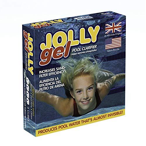 🥇 Jolly Gel Pool Clarifier Gel x 4 Flat Pack