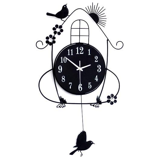 41 opinioni per LifeUp- Pendolo con Uccellino cucù, Orologio da Parete Vintage Design Moderni