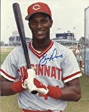 Eric Davis Autographed Cincinnati Reds 8x10 Photo - PSA/DNA Certified - Autographed MLB Photos