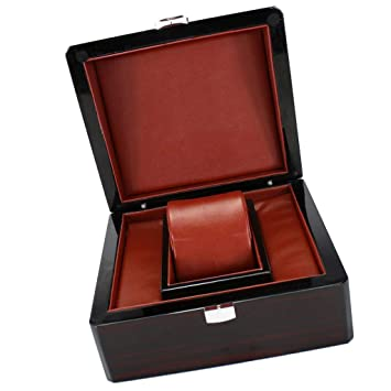 Amazon.com: Fityle - Caja organizadora de madera para ...
