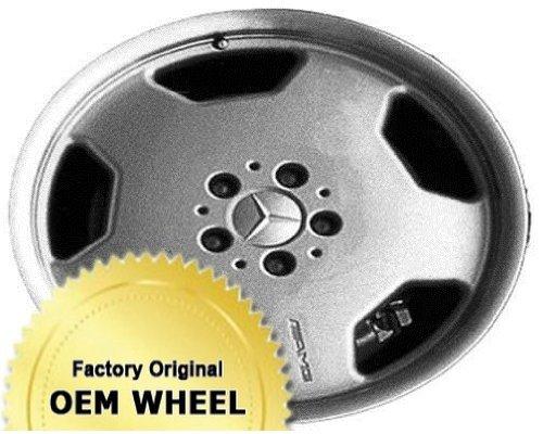 Mercedes E-Class 18X9 5-112 35Mm Offset 5 Spoke Rear Factory Oem Wheel Rim - Machine Lip Silver Finish - ()