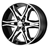 01 mustang gt rims - American Racing Mainline Wheel with Gloss Black Machined (20x8.5