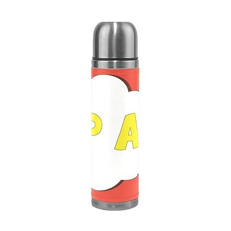 Amazon.com: DEYYA Pop Art - Termo de café de acero ...