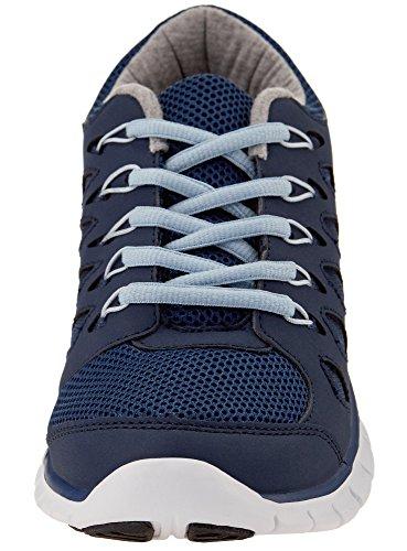 Donna A Ginnastica Scarpe Ultra Blu Oodji 7970b Da Contrasto Finiture Con 5x7aFqfw