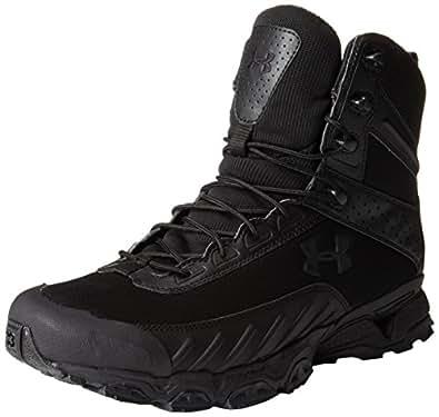 Under Armour Men's UA Valsetz Side Zip Tactical Boots 12.5 Black