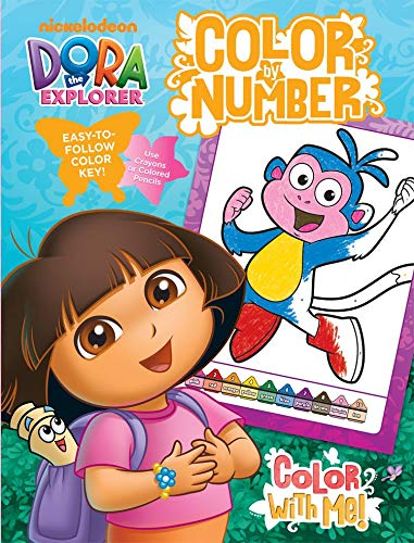 Bendon Publishing International 17768 Dora Color by Number -