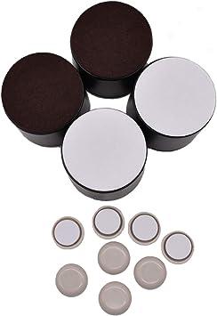 Armadi piedini per mobili adesivi per Mobili qipuneky,4Pcs Mobili in Acciaio al Carbonio Divani