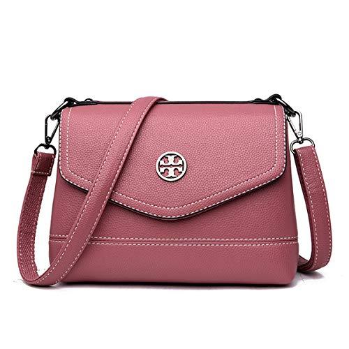 Leather tracolla 6154 Strap per Borsa a a tracolla Messenger Night Borsa del lavoro mano Portafoglio da Pu a tracolla Exull perfetta Pink vita moda donna Moda quotidiana la a Ect xOa8Awq
