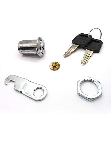 Kentop – Cerradura para buzón Muebles candados Cilindro CAM Lock con 2 Llaves