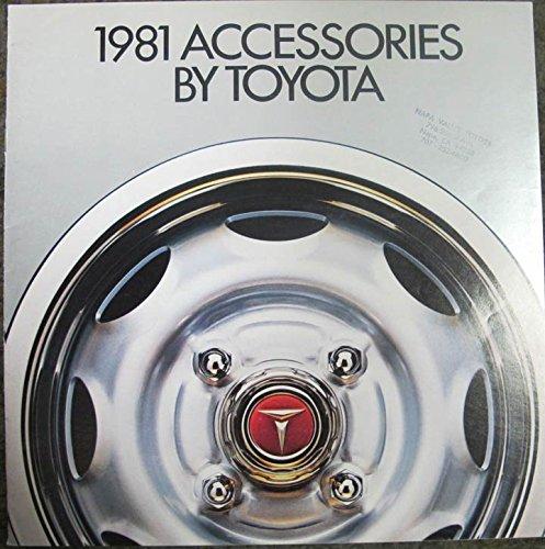 Toyota Corolla Catalog - 1981 Toyota Accessory Brochure Celica Corolla Corona Land Cruiser Pickup