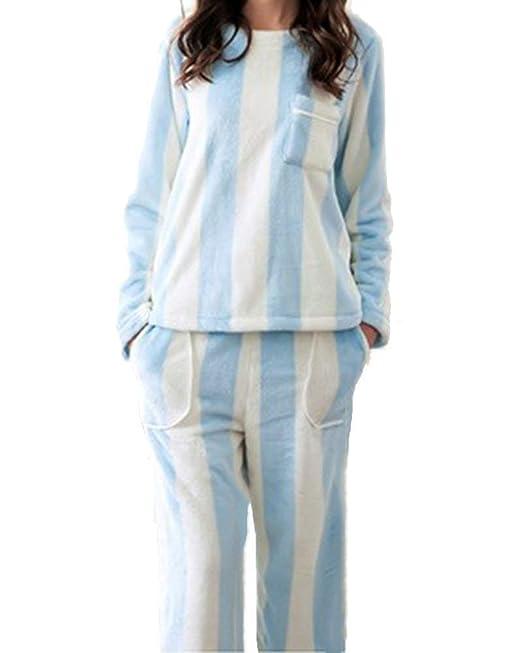 comprare on line 56017 68155 Pigiami Donna Autunno Invernali Addensare Set da Pigiama ...