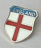 Small England Saint George Cross Quality enamel lapel pin badge