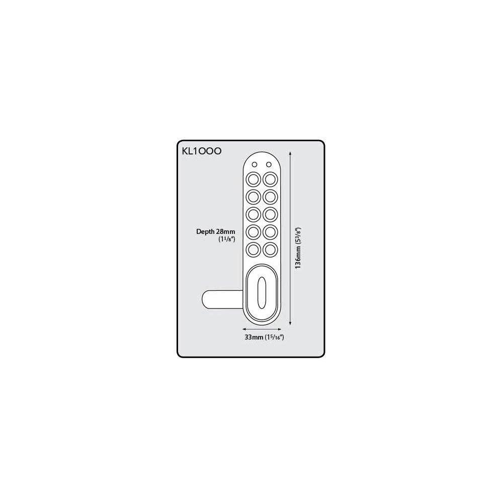 Kit Lock Electronic Cabinet Lock Coded Locker Solutions by Kit Lock (Image #5)
