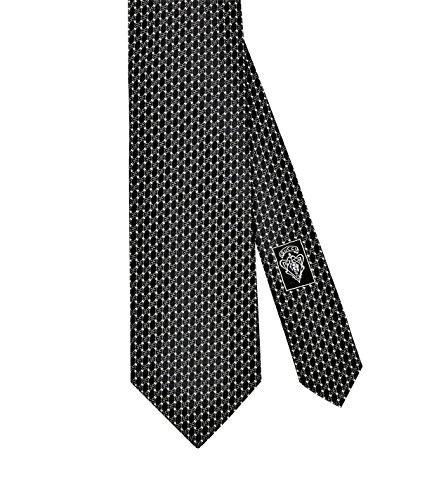 Gucci Micro Interlocking G Woven Italian Silk Tie, 3.25