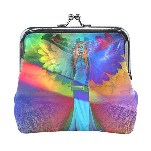 MaMacool Angel Of Death Womens Wallet Card Holder Coin Purse Clutch Handbag - Angel Handbag Holder