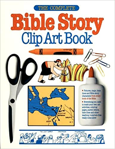 Book The Complete Bible Story Clip Art Book