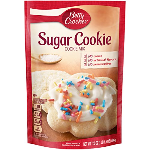 Betty Crocker Baking Mix, Sugar Cookie Mix, 17.5 Oz Pouch Sugar Cookie Mix