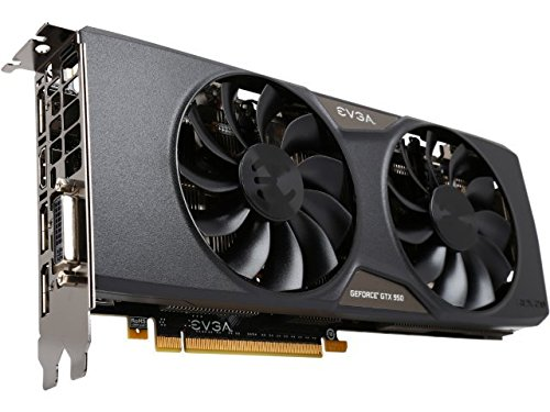 - EVGA GeForce GTX 950 2GB FTW GAMING, Silent Cooling Graphics Card 02G-P4-2958-KR
