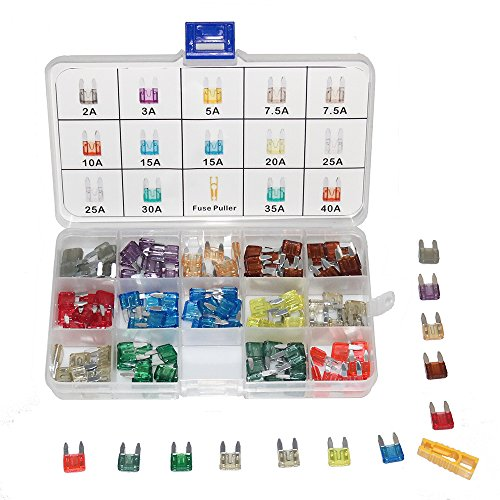 Small Blade Fuse Assortment - 7