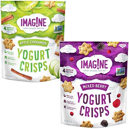 Imag!ne Variety Pack, Yogurt Crisps, 4 Count