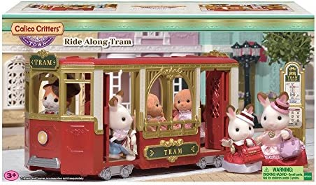 Calico Critters Town Ride Along Tram