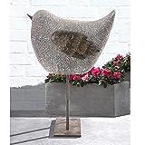 Sunjoy 23″ Whimsical Garden Sparrow Statue