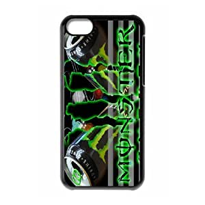 IPhone 5C Phone Case for Classic theme Monster Energy pattern design GCTMSEY889670
