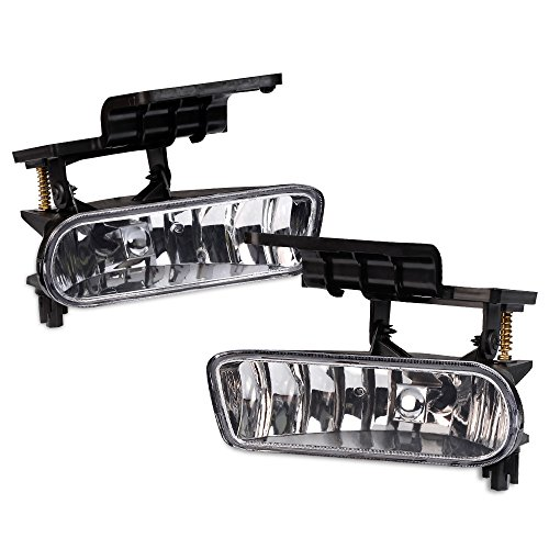For 1999-2002 Chevy Silverado 1500 2500 For 00-06 Chevy Tahoe Suburban Fog Lights Bumper Lamps ()