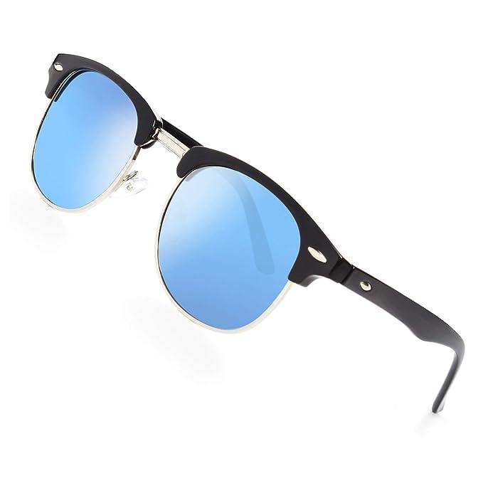 Amazon.com: GQUEEN GQO6 - Gafas de sol polarizadas sin ...