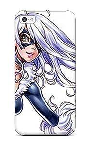AnnaSanders NVvJinK1138wdmrp Protective Case For Iphone 5c(black Cat Comics Anime Comics)