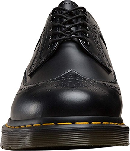 Dr.Martens Mens 3989 5-Eyelet Leather Shoes nero