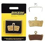 BIKEIN 2 Pairs Cycling Mountain Bike Bicycle Metallic Disc Brake Pads for SRAM Guide RSC/RS/R Avid XO E7 E9 Trail 4 Pistions