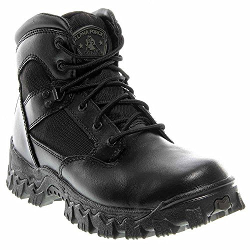 Rocky Alphaforce Boots (Rocky 6in. AlphaForce Waterproof Duty Boot - Black, Size 13 Wide, Model# 2167)
